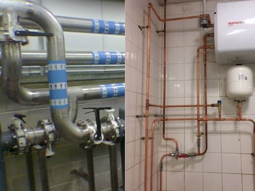steel pipework